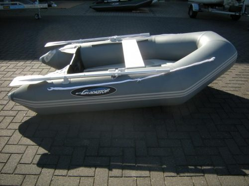 Opblaasboot rubberboot Airdeck bij Beekman Watersport in Goes