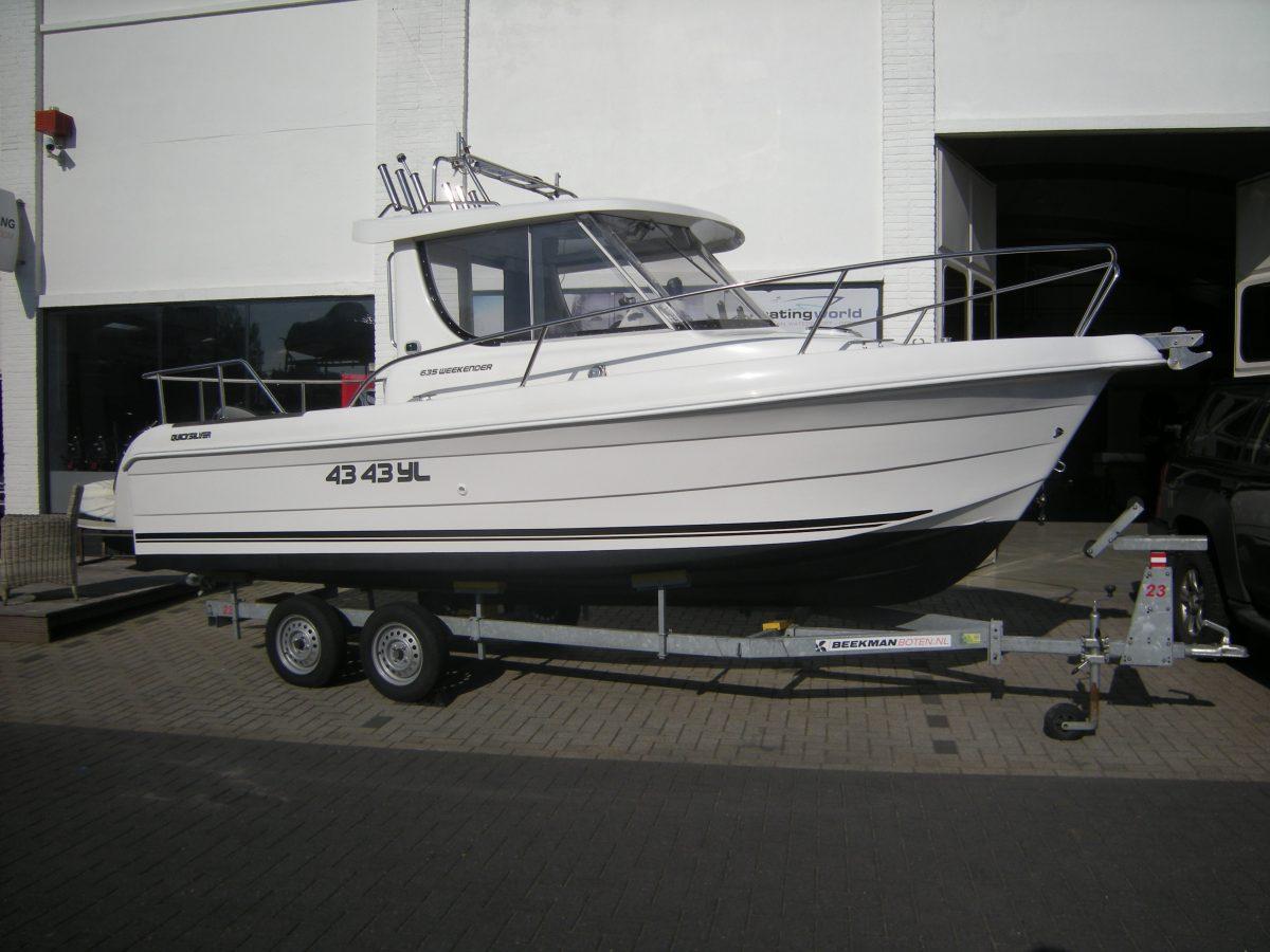 Gebruikte Quicksiler Weekend 635 bij Beekman Watersport