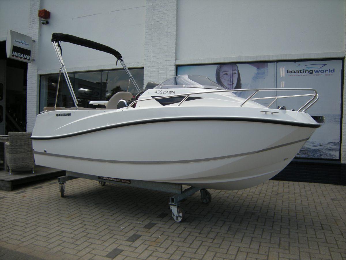 Quicksilver kajuitboot tourboot bij Beekman Watersport in Goes
