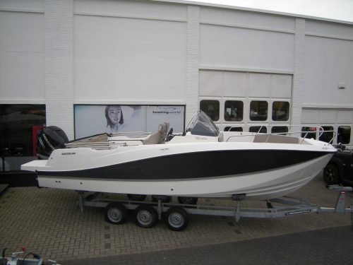 Quicksilver 755 Activ Open speedboot sportboot bij Beekman Watersport in Goes