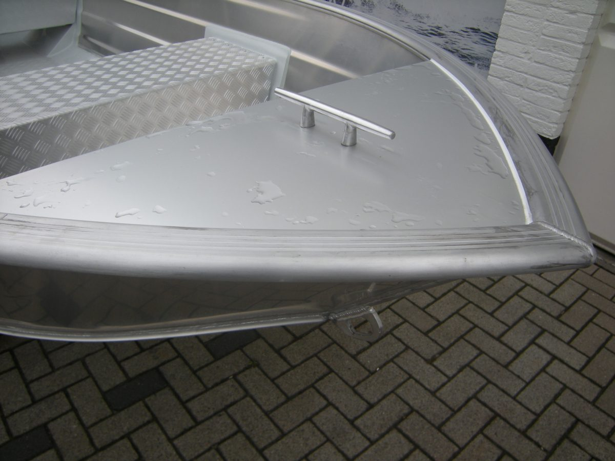 Aluminium boot Smartliner bij Beekman Watersport