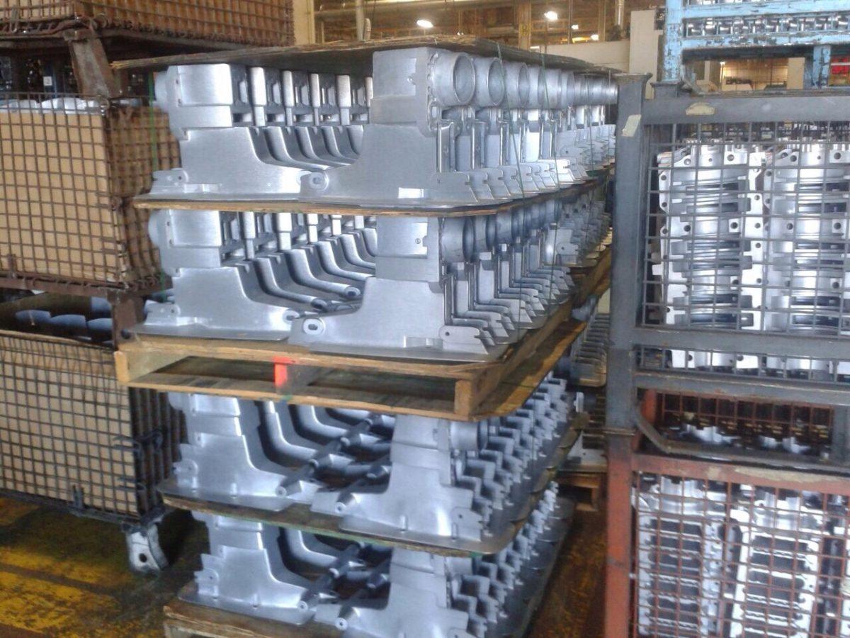 In de Mecruiserfabriek, Stern drives komen uit de gieterij
