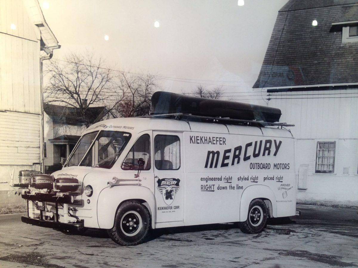 Promotietruck van Mercury