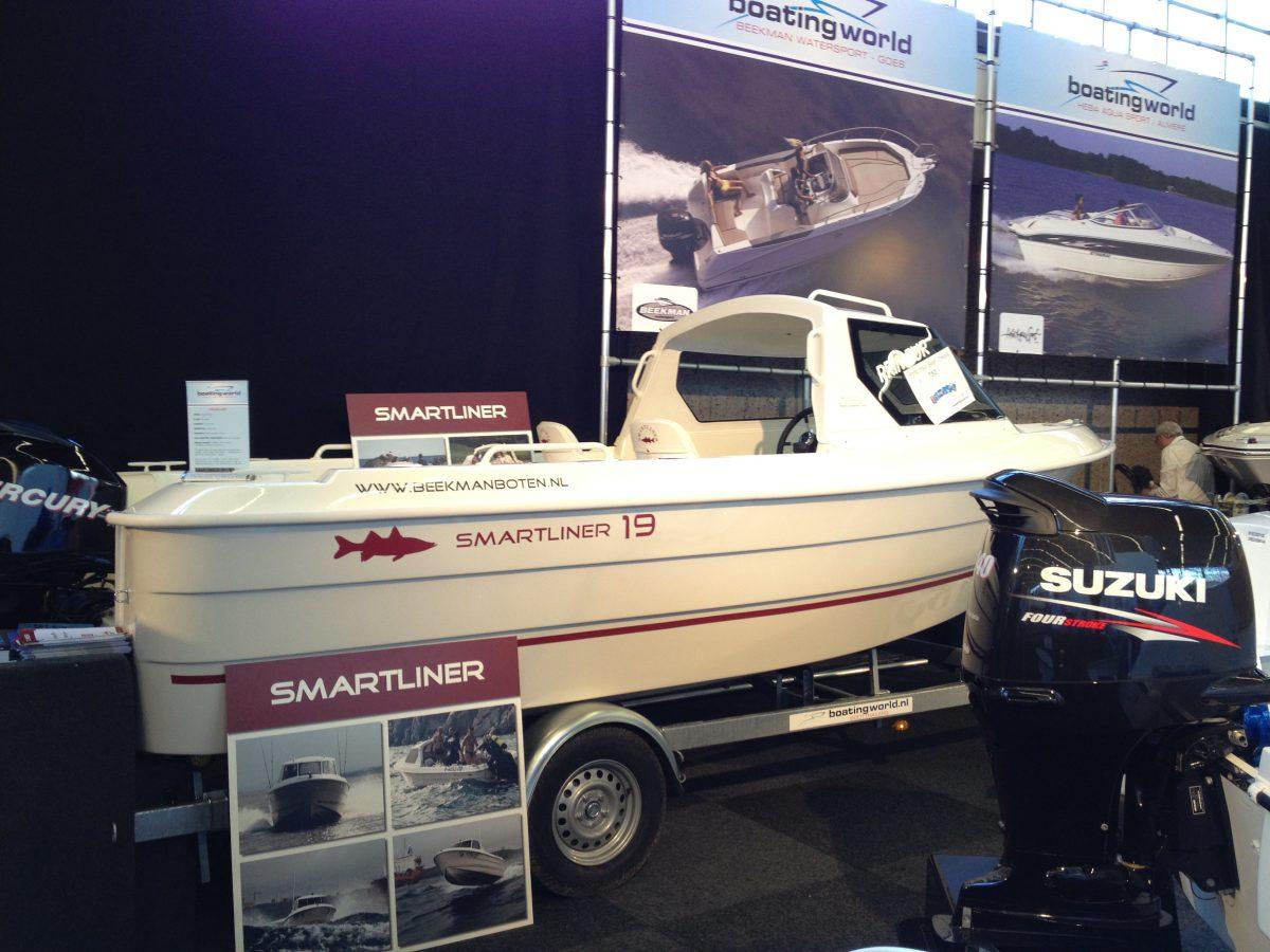 Smartliner 19 Cuddy op botenbeurs Hiswa
