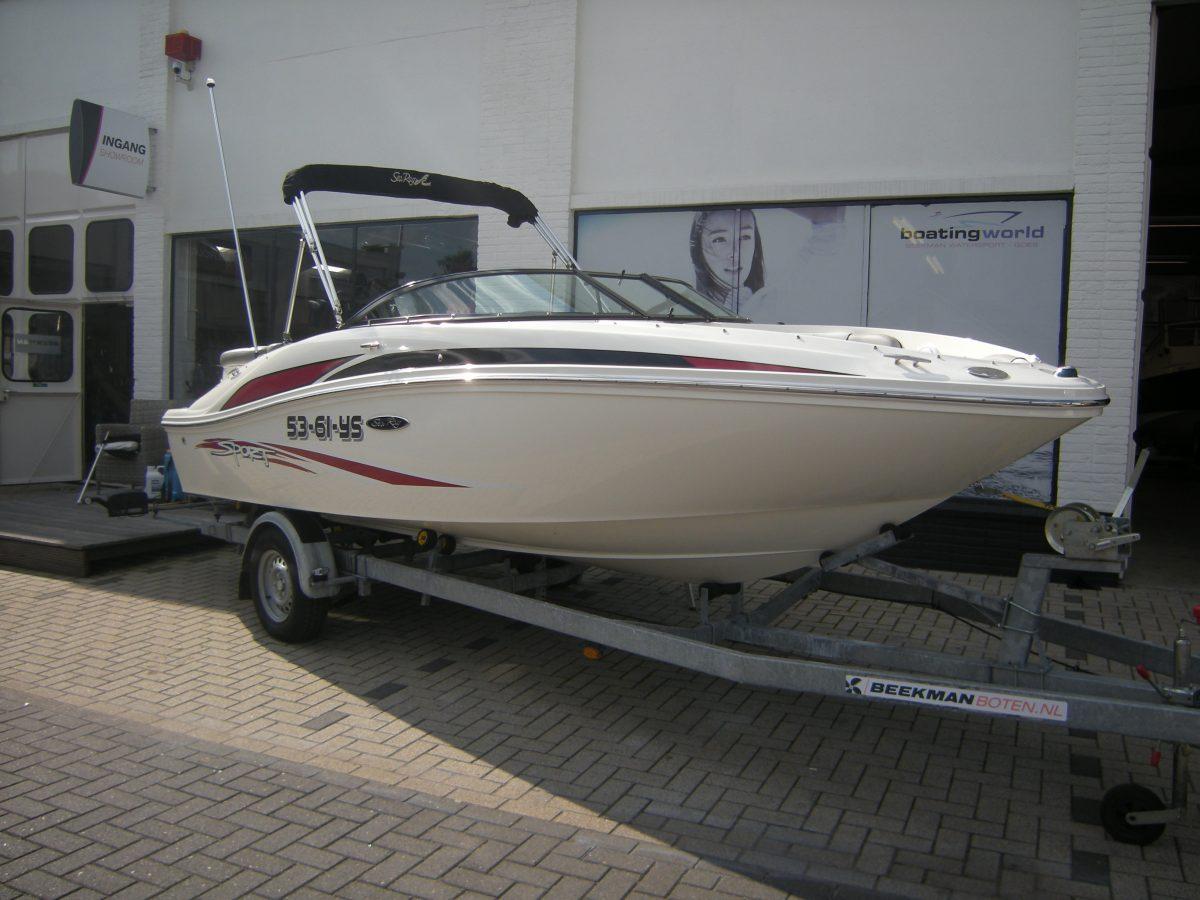 Sea-Ray 185 Sport bij Beekman Watersport in Goes
