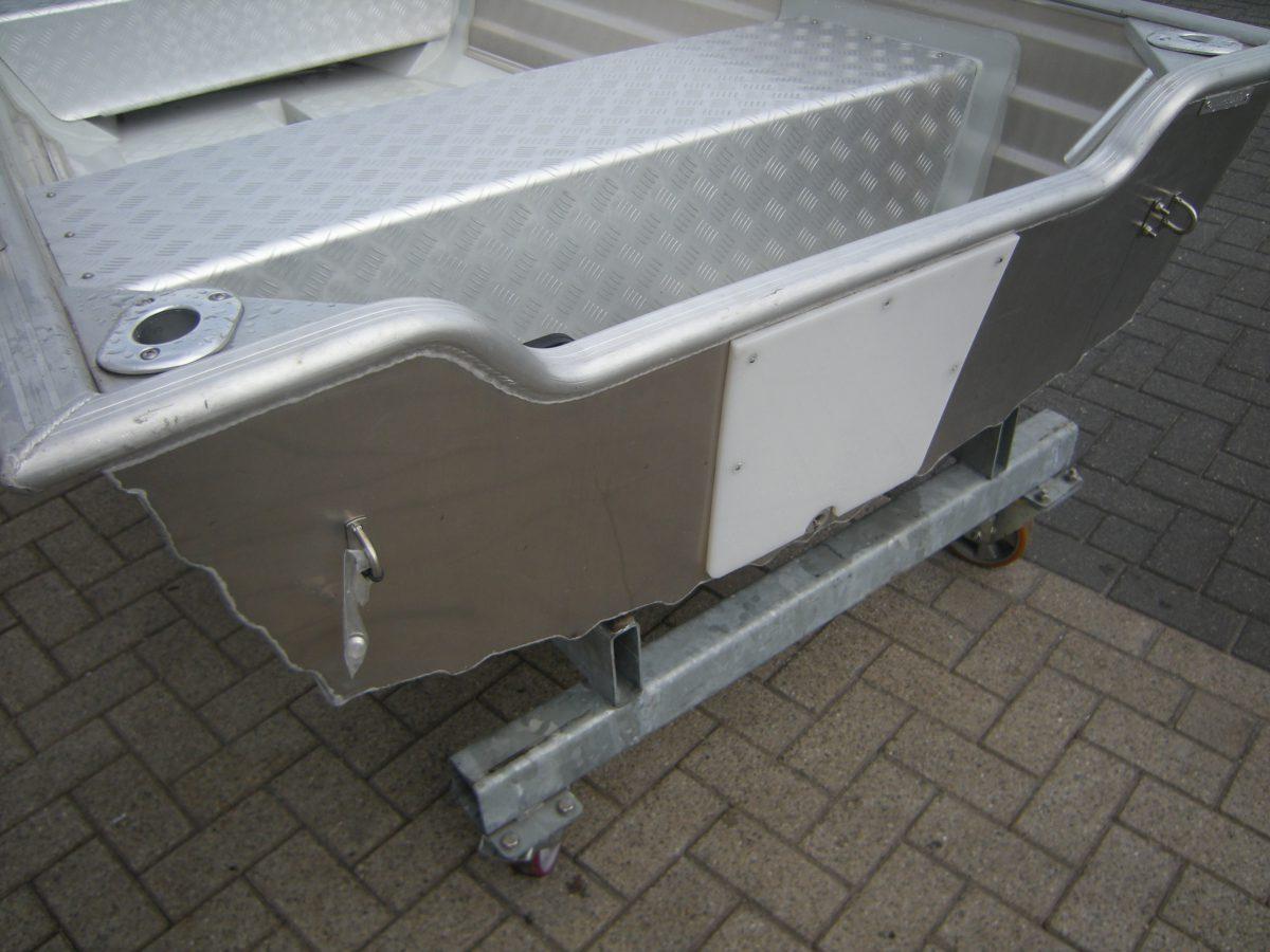 Aluminium visboot