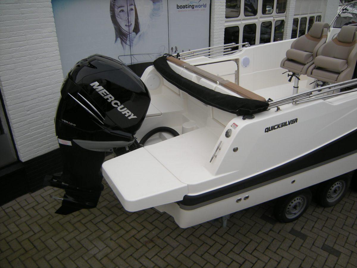 Quicksilver 755 Activ Open speedboot sportboot bij Beekman Watersport in Goes