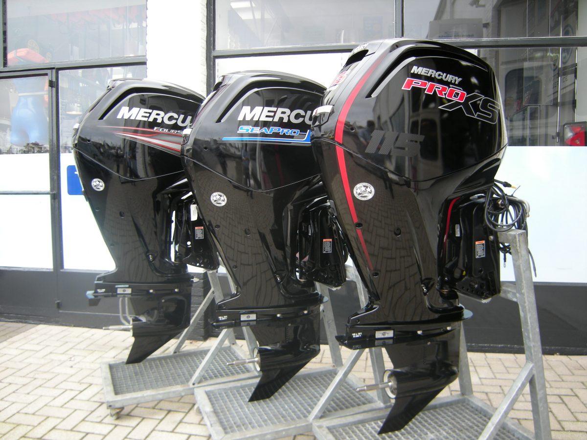 3x 115 Mercury, voor iedere doelgroep een geschikte motor