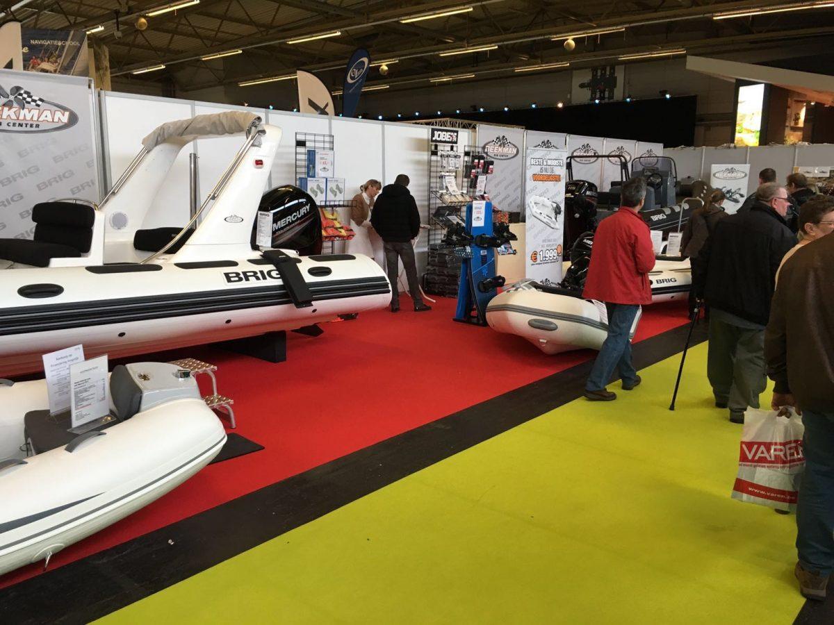 Beekman Watersport stand op de Belgium Boat Show