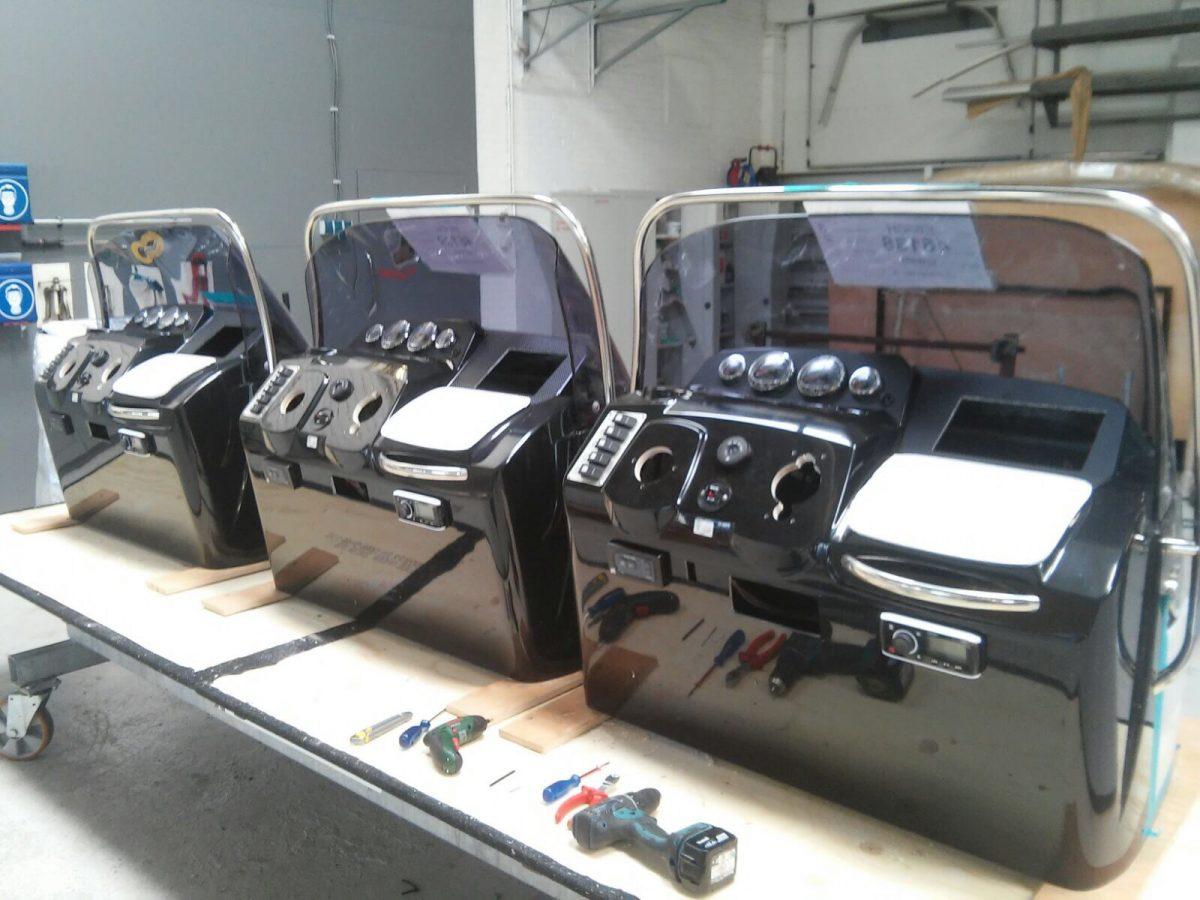 Consoles opbouwen