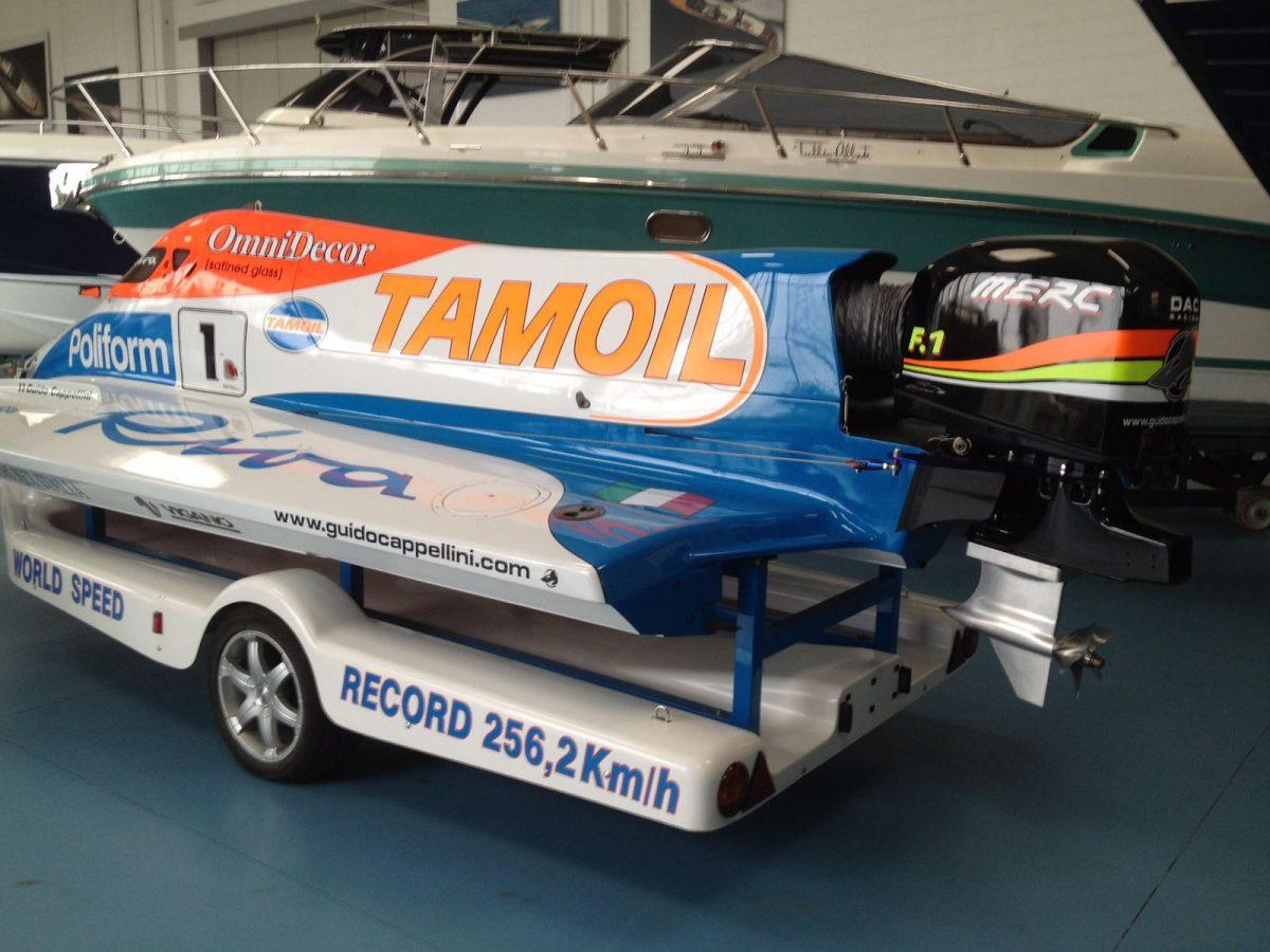 F1 Raceboot Guido Cappellini