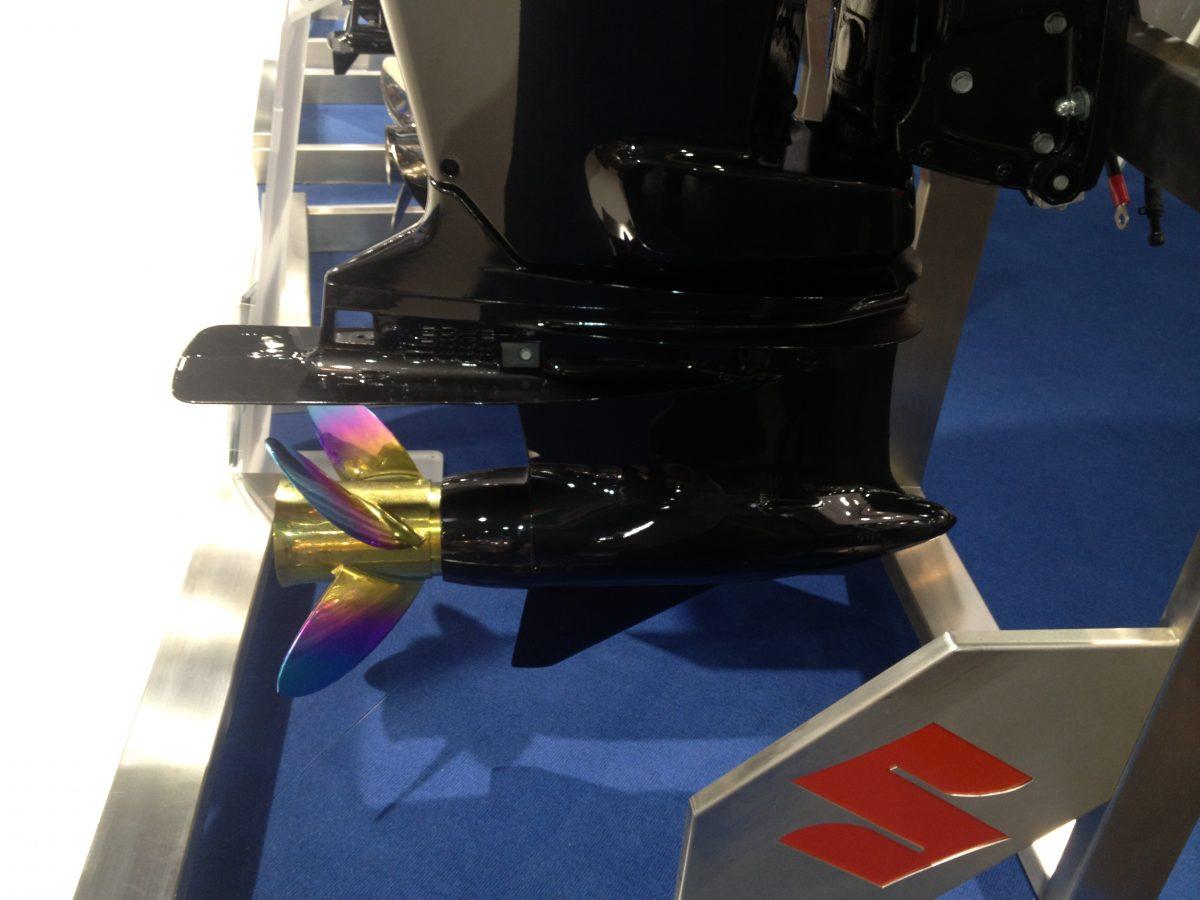 Suzuki prototype staartstuk 300 pk