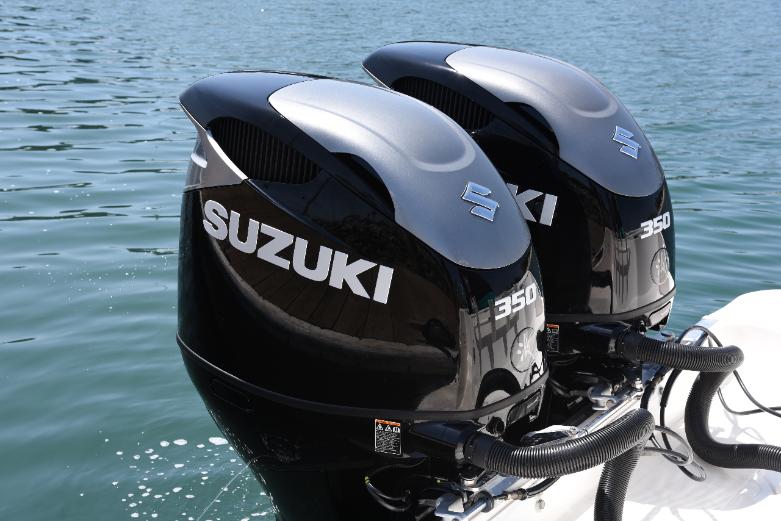 Nieuw model Suzuki 350 pk